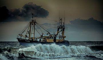schip op zee van Monique crandel