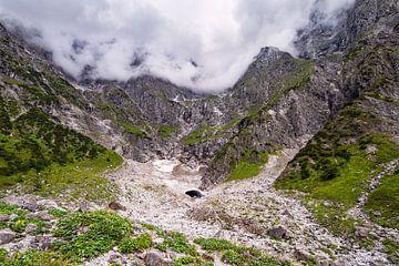 Blick auf die Eiskapelle im Berchtesgadener Land von Rico Ködder