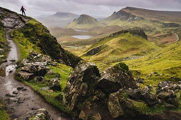 Quiraing, Isle of Skye, Scottland von Paul van Putten