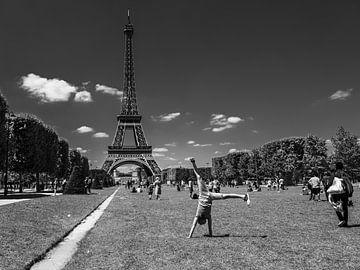 Circus aan de Eiffel van Tim Briers