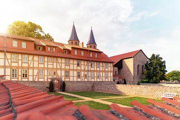 Klooster van Drübeck in de zomer van