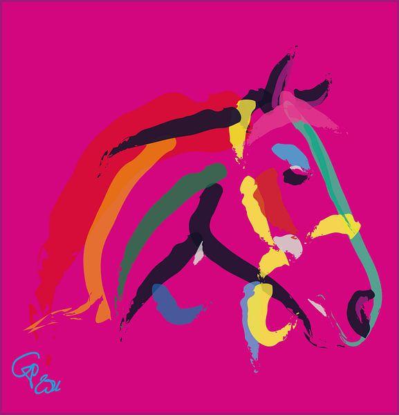 Pferde Color Me Strong von Go van Kampen