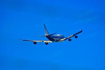 Vertrek van 747 van Norbert Sülzner