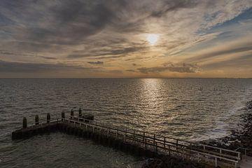 uitzicht vanaf de Afsluitdijk van Karin Riethoven
