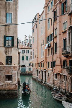 Gondeln in Venedig, Italien von Milene van Arendonk