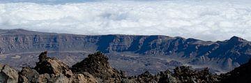 Panorama pico del Teide van Bas van Mook