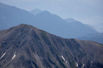 Alpen; Blick auf die Unendlichkeit von Sjors Gijsbers