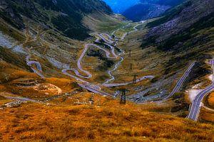Transfagarasan Straße, Rumänien von