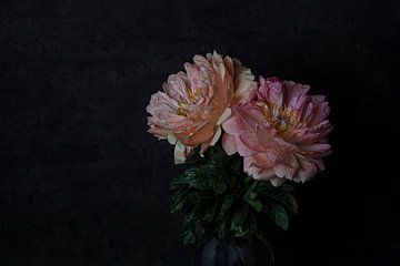 Rosa Pfingstrosen von Anne Marie Hoogendijk