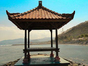 Bali aanlegplaats boten van