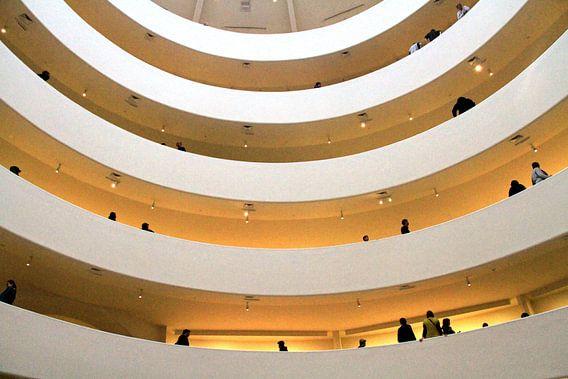 Guggenheim Museum  van Gert-Jan Siesling