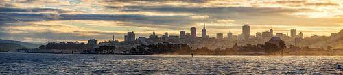 San Francisco Skyline van Reinier Snijders