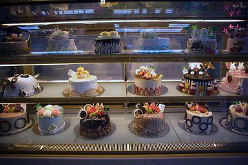 Exposition dans une pâtisserie vietnamienne sur t.ART