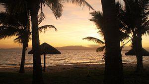 Zonsopkomst in Fiji, Treasure Island