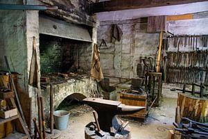 Traditionele smederij van