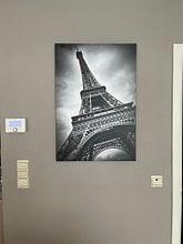 Kundenfoto: Eiffelturm DYNAMIC von Melanie Viola, auf leinwand