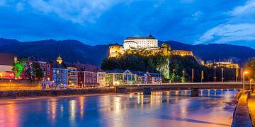Kufstein in Tirol bei Nacht von Werner Dieterich