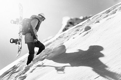 Snowboarder van Jarno Schurgers