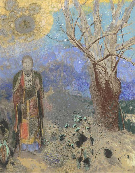 Buddha, Odilon Redon von Meesterlijcke Meesters