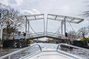 Open brug over de Vecht van