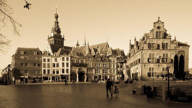 Waagplein Nijmegen klassiek beeld van Tessa Louwerens