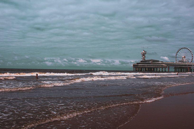 Strand von Scheveningen von Bjorn Nieuwenhuis