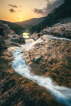 Wadi Darbat Canyon in Salalah von Jean Claude Castor