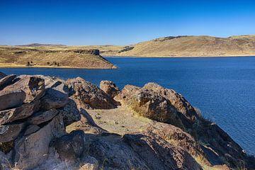 Umayo-See bei Puno in Peru von Yvonne Smits