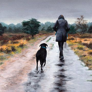 A Rainy Day von Michelle Coppiens
