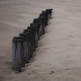 Strand van Ameland van Jetty Boterhoek