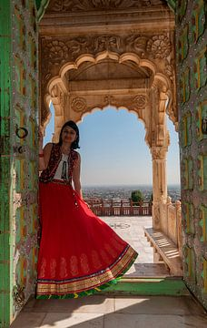 India: Jaswant Thada (Jodhpur) van Maarten Verhees
