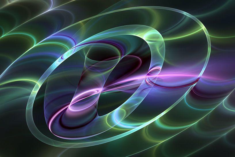 Abstract Fluorescence van gabiw Art