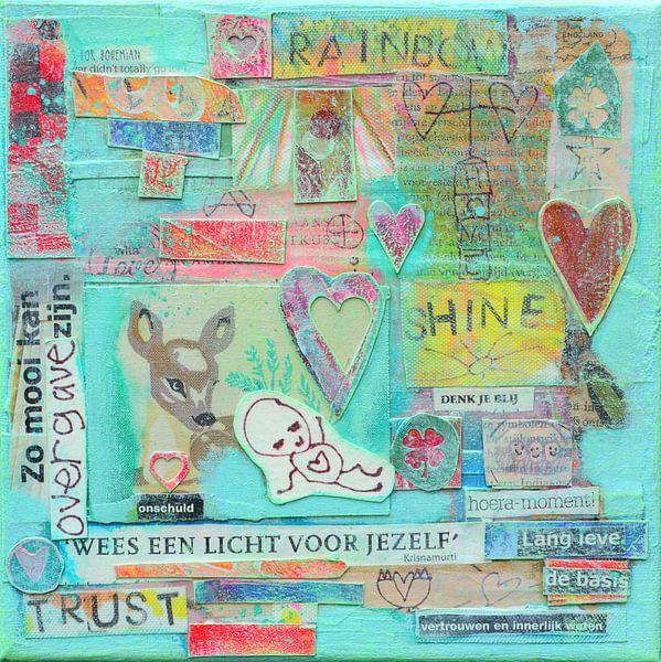 Collage van Ina Wuite