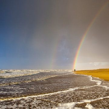 Onder de regenboog van