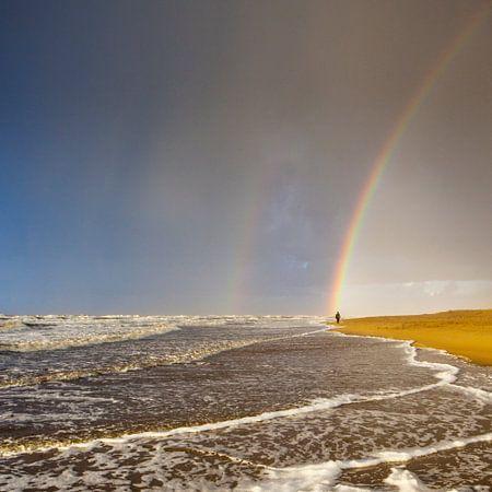 Onder de regenboog
