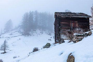 Hütte in den Bergen von Mark Thurman