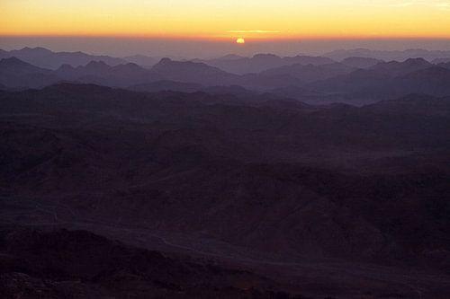 Zonsopkomst boven Egypte