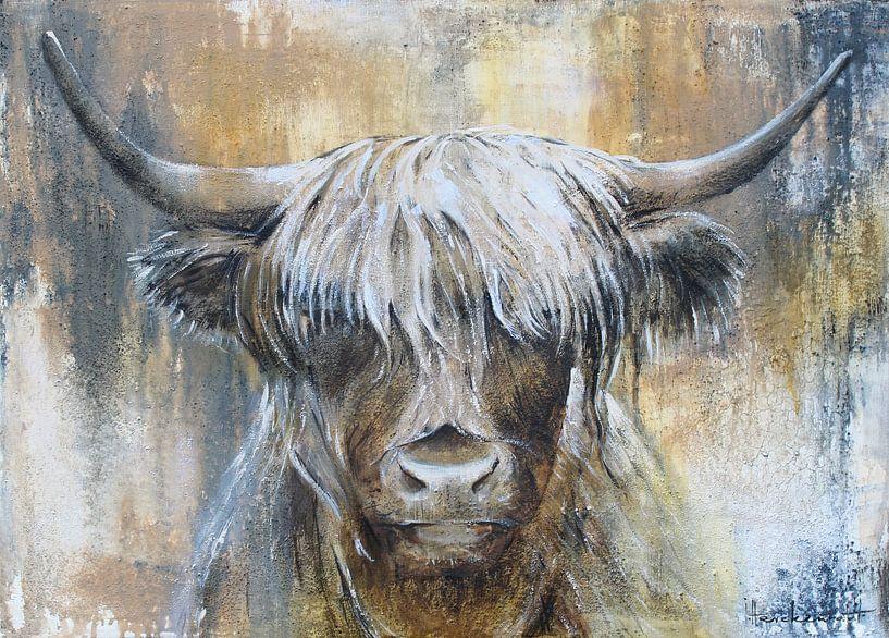 Highland Cow I van Atelier Paint-Ing