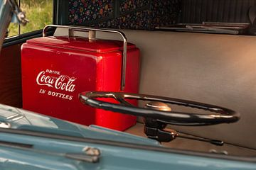 Boire du Coca-Cola sur Wim Slootweg