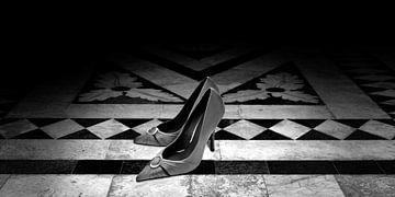 Damesschoenen (zwart-wit)
