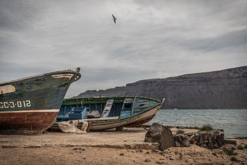 Fischerboote von Jim De Sitter