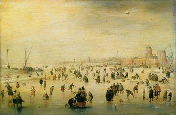 Schlittschuhlaufen, Hendrik Avercamp