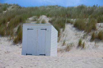 Typisch Nederlands strand van Marco Leeggangers