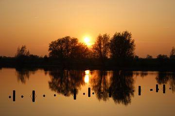 Zonsondergang van DVT Photography