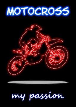 Motocross van Printed Artings