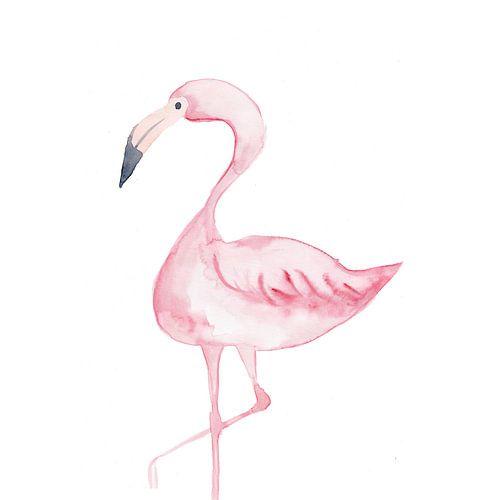 Flamingo von Esther  van den Dool