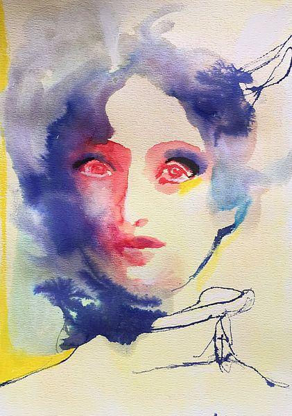 Dream Clouds van Helia Tayebi Art