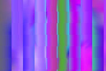 Farbenspiel Kunstdruck von ines meyer