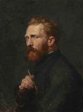 Vincent van Gogh par John Peter Russell - 1886 sur