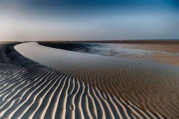 Het strand van Schiermonnikoog van Tineke Visscher